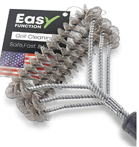 Bristle-FREE Grill Brush might save a trip to the emergency room!