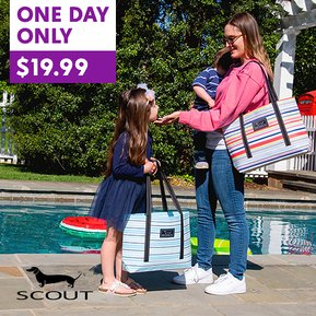 You all raved about these Scout Bags last time!! They're back!