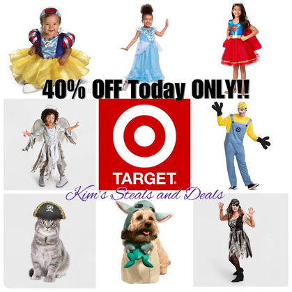 40% OFF Halloween Costumes!!