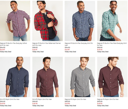 Hot Deal over at Old Navy today!