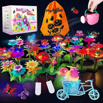 Flower Garden Building Toy is a STEAL w/ CODE!