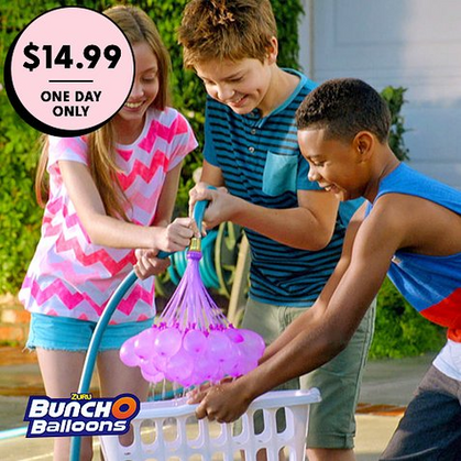 Oh, my kiddos love these Bunch O' Balloons Sets!