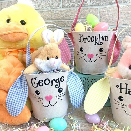 Personalized Easter Bunny Bags are just $10.99 Shipped