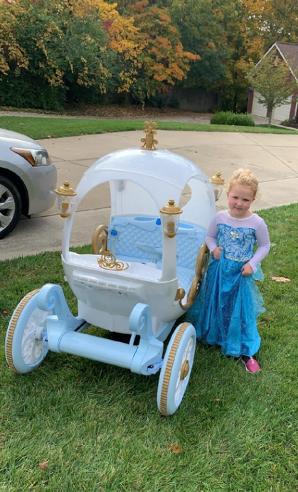 Matching Dress and Carriage! Cinderella not included!!