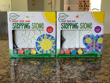 Stepping Stones w/ Paint Kid is perfect for the Easter Basket!