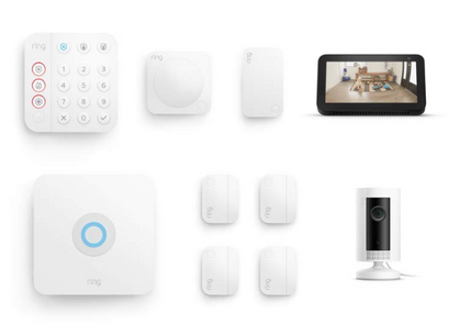 Right now get up to 30% off Ring Alarm Kits