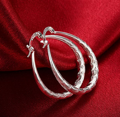 WOW! Sterling Silver Hoops under $10!!