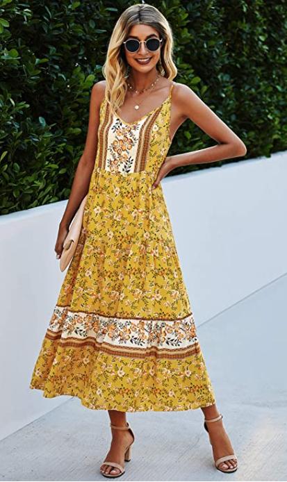 Beautiful Boho Maxi Dresses are a great deal