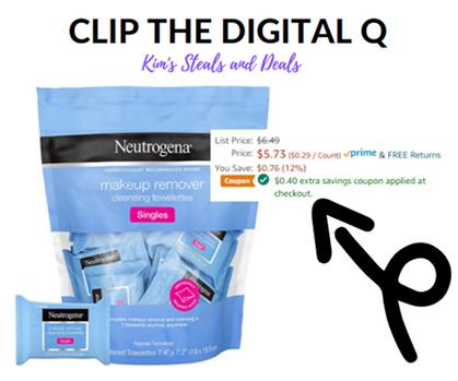 Great price on Neutrogena Makeup Remover