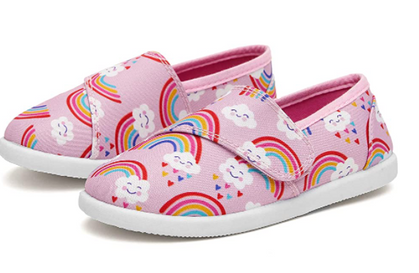 Adorable Girls Canvas Sneakers drop 35% OFF