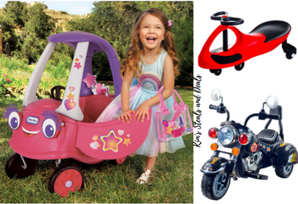HOT DEALS on Riding Toys! 55% OFF + an additional 10% thru my link!