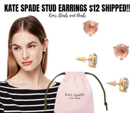 $12 Shipped Kate Spade Studs!!