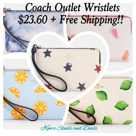 Coach Wristlets $23 + Free Shipping!!