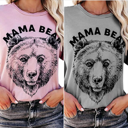 Where are my fellow Mama Bears? Snag this cute tee under $10!