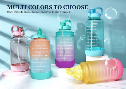 Big Gallon Water Bottles drop around $11 with group code