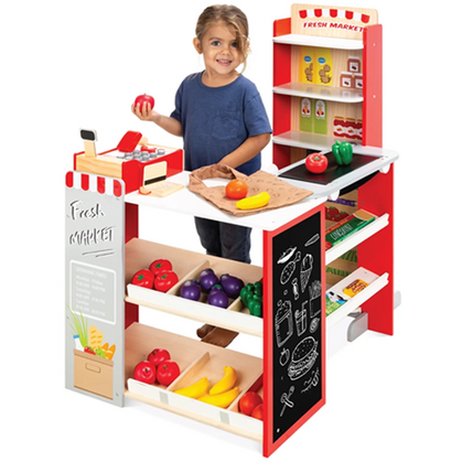 Supermarket Toy Set with over 40 Accessories included for just $89.99