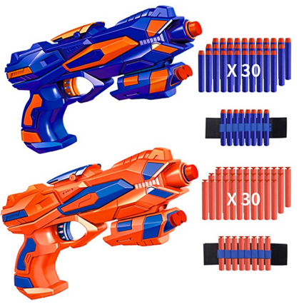 Set of TWO Blaster Toy Guns for ONLY $11.99