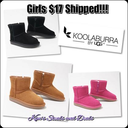 Girls Koolaburra by UGGs $17 Shipped!!