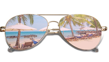 Double Deal on Classic Aviator Sunglasses, Markdown + Coupon!