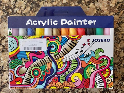 These Acrylic Pens are awesome! Snag your set of 12 under $10!