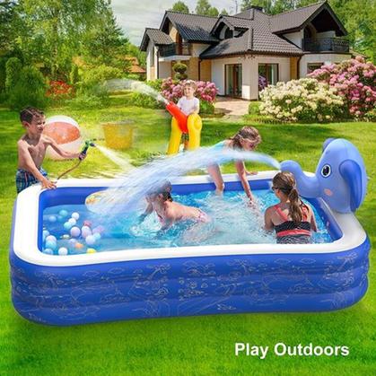 Digital Q on this Kiddie Pool with Sprinkler makes it a DEAL!!