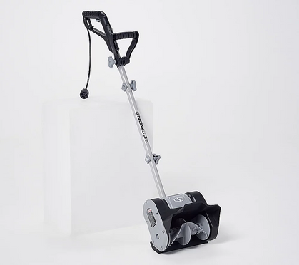 """10"""" Electric Snow Shovel is the DEAL of the D-A-Y over at QVC!! as low as $44..."""