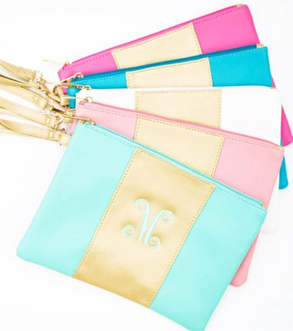 Personalized Wristlet Clutch today for just $14.99 Shipped!!