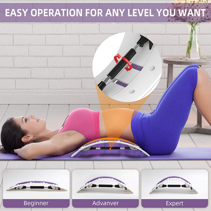Spine Deck Back Massager is Amazing for Lower Back Pain Relief!