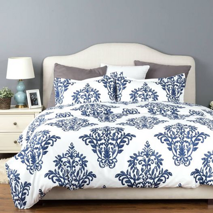 Duvet Cover Set with Zipper Closure drops 60% with group code