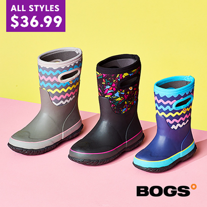 Kids' BOG Boots are just $36.99 (Reg $60) Here!