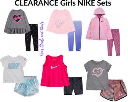 Girls NIKE Sets on Clearance, up to 50% OFF