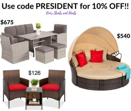 Outdoor Patio/Dining Sets!! DEAL of the DAY!!
