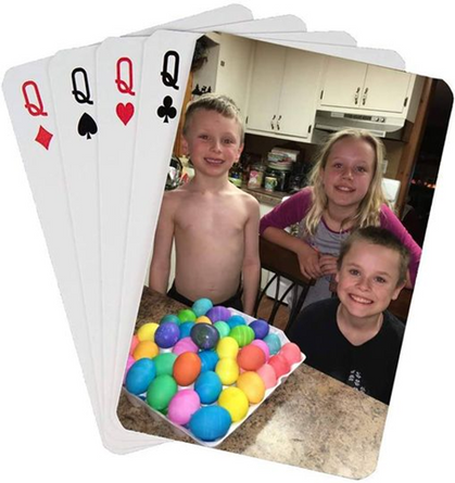 Brilliant!!  70% OFF Personalized Playing Cards!!