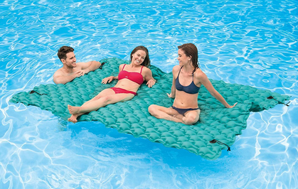 The Intex Giant Inflatable Floating Mat is RESTOCKED!!