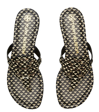 These Tory Burch Miller Triangle Gio Sandals are 60% OFF + Ship FREE