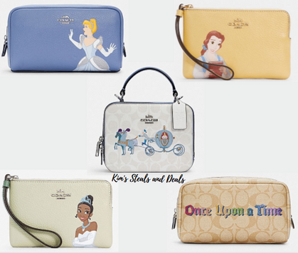 OH. EMM. GEE.  Disney X Coach Outlet just dropped!!