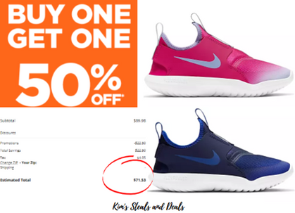 I just scored two pairs of Nike Flex Shoes for my kiddos!