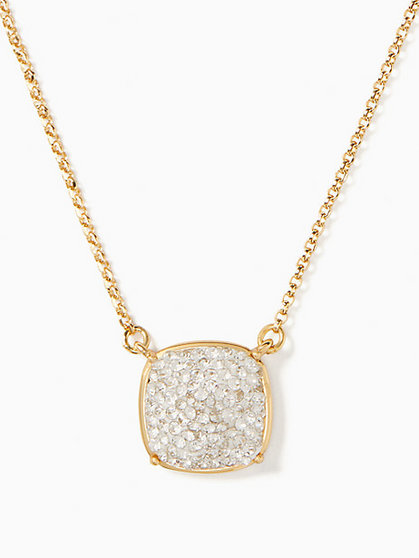 BEAUTIFUL!! Kate Spade clay pave small square pendant is ONLY $19