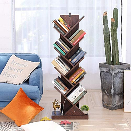 Double Deal on this 9-Shelf Tree Book Shelf - digital coupon + code!!