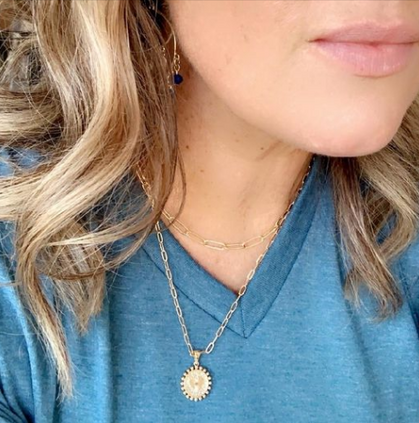 My Necklace is back down to just FIVE bucks with code!