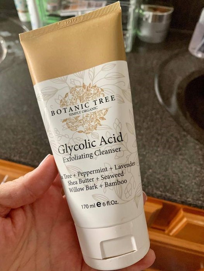 My Botanic Tree Glycolic Acid Exfoliating Facial Cleanser is back on lightning deal