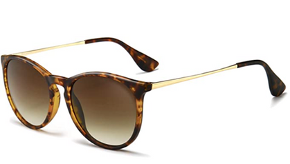 Vintage Round Sunglasses (unisex) drop to $8 and change w/ code