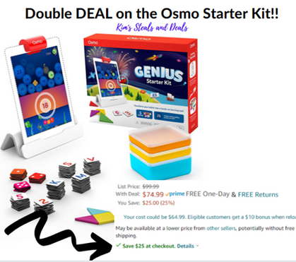 Genius Starter Kit for iPad is 25% off + clip the digit Q for an additional $25 OFF