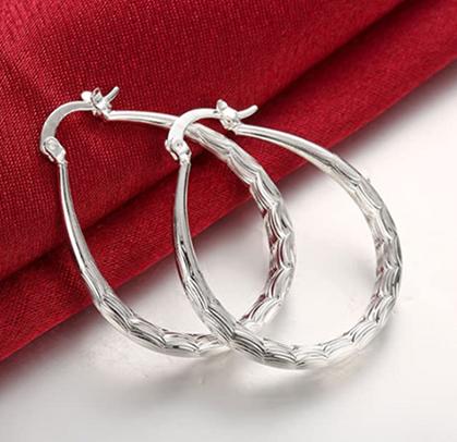 Sterling Silver Hoop Earrings drop under $10 with promo code