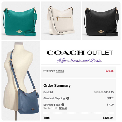 Additional 15% OFF Coach Outlet
