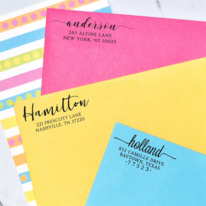 Personalized Self Inking Stamps just $19.99 Shipped (includes personalization)