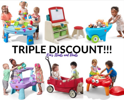 TRIPLE DISCOUNTS😳 on Step2 Toys