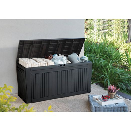 Outdoor Deck Box just restocked at it's LOWEST PRICE - only $49