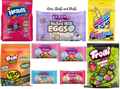 Today ONLY, snag up to 47% OFF Easter Candy!!