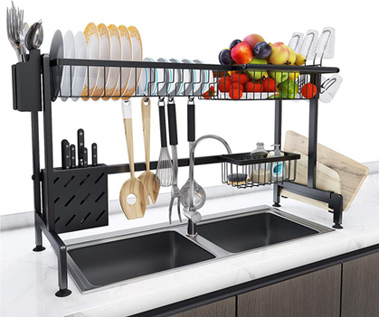 Over The Sink Dish Drying Rack - use my CODE for 40% OFF!
